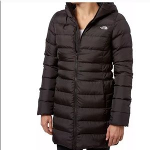THE NORTH FACE DOWN BLACK  COAT